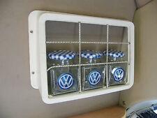 BLUE Storage unit VW Type 2 Bay Window Camper Split Bus T2 caravan motorhome T25