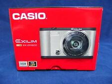 CASIO 2015 HIGH SPEED EXILIM EX-ZR1600 Digital Camera 16.1MP Silver WiFi New!