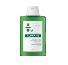2x KLORANE Shampoo With Nettle for Oily Hair 200ml