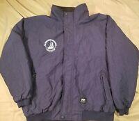 HELLY HANSEN Navy Blue Winter Jacket Coat S.E.A. Woods Hole Men's L
