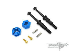 Drive Shaft with Clip 12mm Wheel Adapter ( Tamiya T301 )