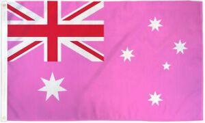 "10 x ""AUSTRALIA PINK"" 3x5 ft flag polyester rainbow pride LGBTQ"
