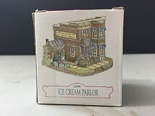 """Liberty Falls Americana Collection Ah96 """"Ice Cream Parlor"""" Building New! So Cute"""