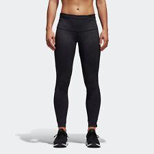 🔥 adidas Women's Running Ultra Seven-Eighths Tights Black & Grey Medium NWT