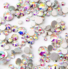 RUOSHAN SS3-SS16 Mix Small Sizes AB Rhinestones for Shoes Jewelry Nail Art