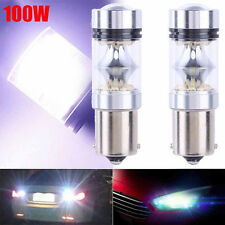 2 Pieces Set 100W 1156 S25 P21W BA15S LED Backup Light Car Reverse Bulb Lamp New