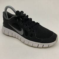 Nike Free 5.0+ Size US 5Y Women's Running Shoes Black 580558-001 Walking Gym