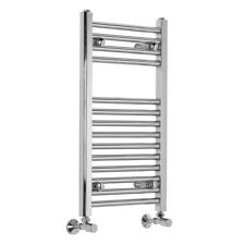 Bergen 700 x 400 mm Straight chrome Chauffé rail serviette