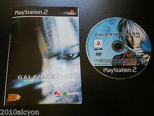 JEU Sony PLAYSTATION 2  PS2 GALERIANS : ASH (sans notice, envoi suivi, testé)