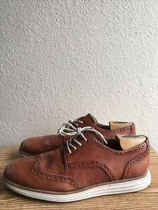 Cole Haan Grand.Os Men's SZ 11.5 M Original Grand Wingtip Oxford Lace Up Shoes