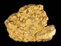Genuine Calif. Alaska Natural Sponge Gold Nugget 1.99gr 15.57mm x 12.04mm Size