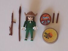 Playmobil Sorcier Indien 3328 Western Indian Witch Doctor 1985 vintage