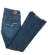 American Eagle Outfitters Women's Artist Stretch Distressed Denim Blue Jeans 6R