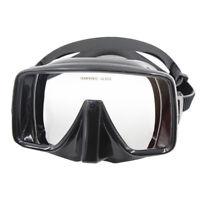Erwachsene Anti-Fog Tauchermaske Schwimmmaske Taucherbrille Schnorchelmaske für