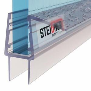 Duschdichtung Duschtürdichtung Wasserabweiser Schwallschutz Glasprofil Duschtür