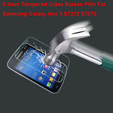 New Premium Tempered Glass Screen Protector for Samsung Galaxy Ace 3 S7272 S7270