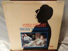 "Alfred Hitchcock'S ""Rear Window"" Laserdisc 1954 Classic Movie James Stewart"