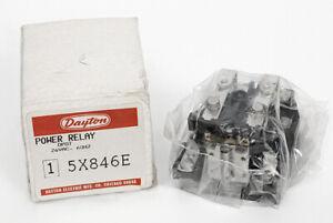 DAYTON 5X846E POWER RELAY 30A 2HP 240V 50/60HZ 1-1/2HP 120VAC 50/60HZ COIL 24VAC
