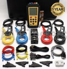 Ideal 61 806 Three Phase Power Quality Analyzer With Harmonics Adapter 61 806 3