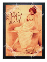 Historic French Undergarment 1900s Advertising Postcard