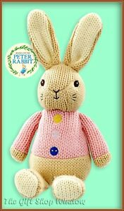 NEW MADE WITH LOVE FLOPSY BUNNY SOFT TOY OFFICIAL PETER RABBIT SUPERB BABY GIFT