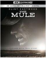 The Mule: (4K Ultra HD+Blu-Ray + Digital 2 Disc, 2019)  Brand new With Slipcover