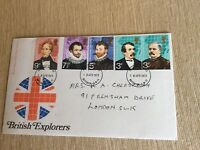 Post Office First Day Cover British Explorers