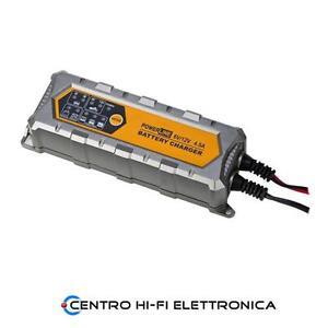 Caricabatteria Automatico Ripristino Mantenimento Carica 6V / 12V 4.5A Powerline