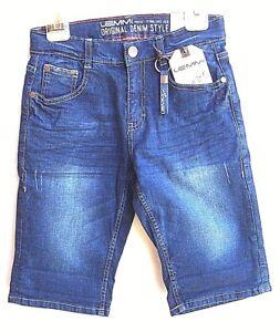 LEMMI Boys Bermuda light blue denim Gr 128 140 146-164 SLIM   UVP 39,95 €