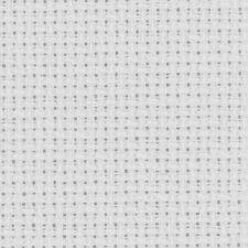 Coupon TOILE AIDA 5,50 points Coloris BLANC 39 x 49 cm point de croix REF toiaid
