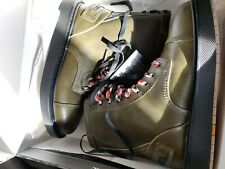 Diesel D-Cage Dbb Men's Ankle Boots Leather Green