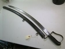 US WAR OF 1812 CAVALRY SWORD MARKED US P JN STARR DATED 1821 WITH SCABBARD #P122