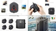 Travel  Adapter Charger International Multifunctional Dual USB EU AU US UK USB