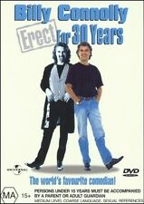 BILLY CONNOLLY - Erect For 30 Years - Comedy Documentary DVD Region 2 & 4