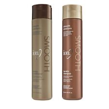 Ion Keratin Smooth Solutions Shampoo and Conditioner Duo Set 10.5 oz NEW