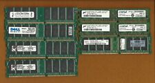 Mixed Lot of 7 pieces of 1 GB DDR Memory RAM PC2700 & PC3200