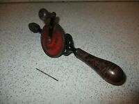 Vintage IXION Eggbeater Hand Crank Geared Drill Made In Germany