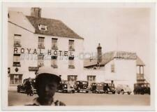 DEAL - Royal Hotel - Original Vintage PHOTOGRAPH 60mm x 86mm Small VELOX - Kent