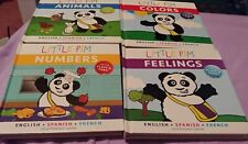Little Pim French Board Books Lot of 4