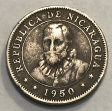 Nicaragua - Central America - 10 Centavos - 1950 - Km-17.1 - Free Shipping!