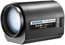 Samsung  SLA-880 EX C-mount Motorized Zoom Lens / 8 to 80mm / 10x Zoom