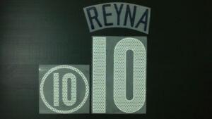 CLAUDIO REYNA #10 USA Away 2004-2006 Name Set