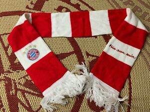 BAYERN MUNICH GERMANY RARE FOOTBALL SOCCER FAN SCARF OFFICIAL LICENSED PRODUCT