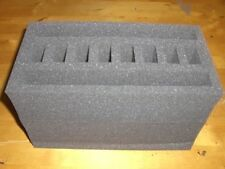 50 Cal Ammo Can Foam Holds 2 Pistols Glock/Smith&Wesson/Beretta/Taurus/Sig Sauer