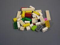 Bulk Lot Lego Bricks 2X 46 Multi Coloured  46 Pieces. Genuine Lego. H3