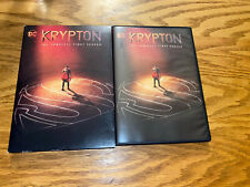 DC KRYPTON THE COMPLETE FIRST SEASON ONE 1 DVD SET W SLIPCASE SUPERMAN PREQUEL