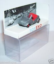 rare MICRO TOY EKO TOYEKO HO 1/86 1/87 SPAIN BISCUTER GRIS ARGENT REF 2153 BOX