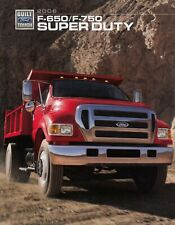 FORD TRUCK SUPER DUTY 650 750 F LKW Prospekt Brochure 2006 USA E
