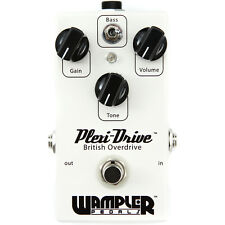 Wampler Pedals Plexi-Drive British Overdrive Guitar Effects Pedal w/ Bass Boost