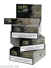 JASS SLIM Brown - Lot de 150 Carnets - 3 Boites !  (Feuilles Non Blanchies)